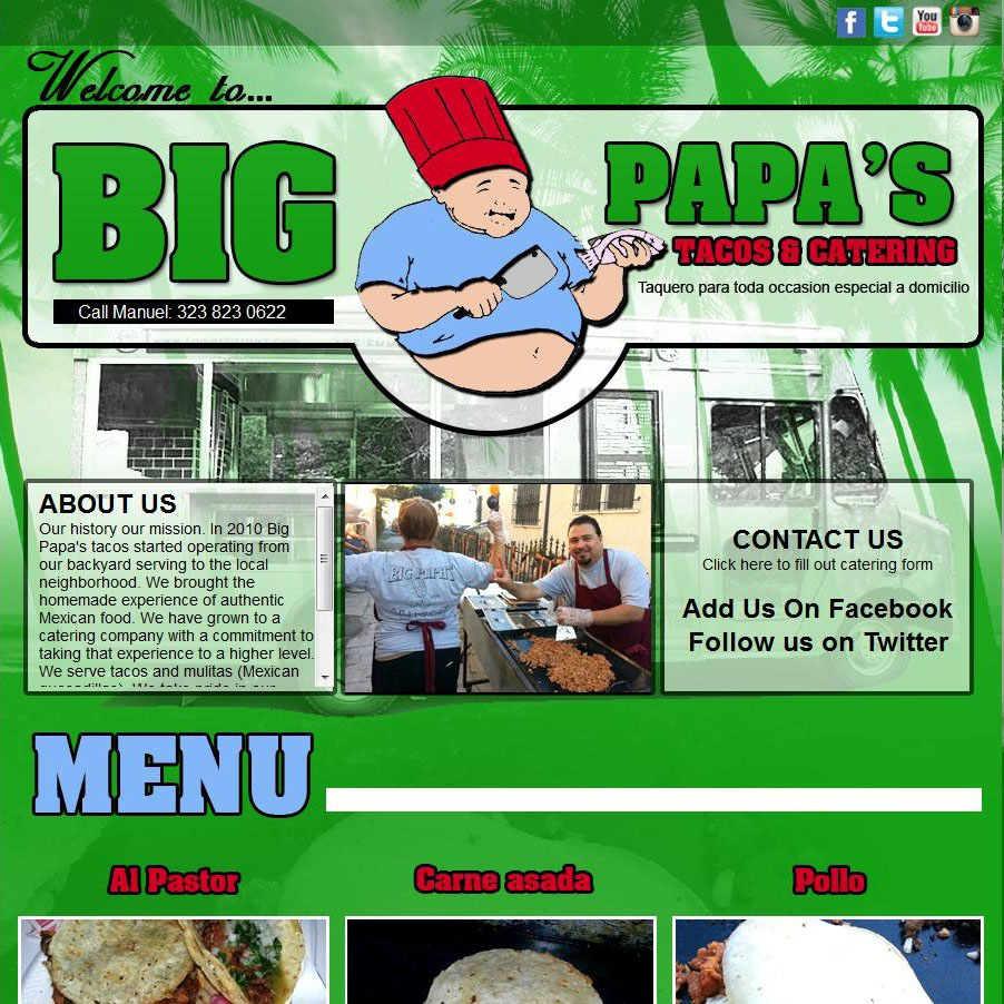 Big Papa's Website