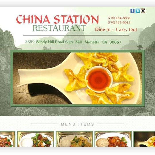 China Station Website